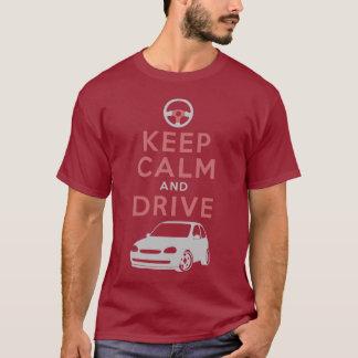T-shirt Gardez le calme et conduisez - Corsa- /version5