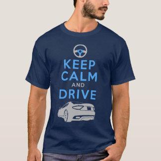 T-shirt Gardez le calme et conduisez - GranTurismo-