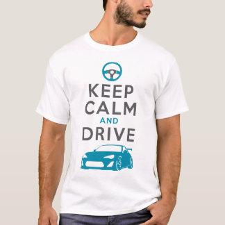 T-shirt Gardez le calme et conduisez - GT86- /version2