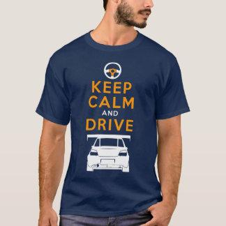 T-shirt Gardez le calme et conduisez - Impreza- /version2