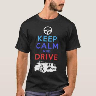 T-shirt Gardez le calme et conduisez - le M3