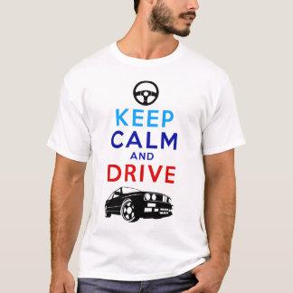 T-shirt Gardez le calme et conduisez - le M3 /version2