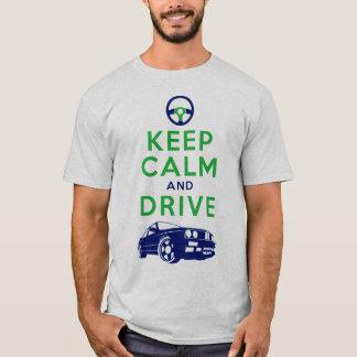 T-shirt Gardez le calme et conduisez - le M3 /version4