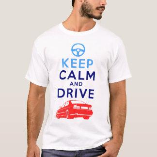 T-shirt Gardez le calme et conduisez - M5-