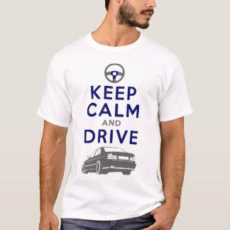 T-shirt Gardez le calme et conduisez - M5- /version3