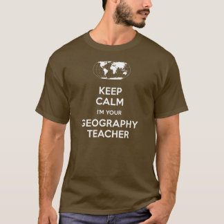T-shirt Gardez le calme que je suis votre professeur de