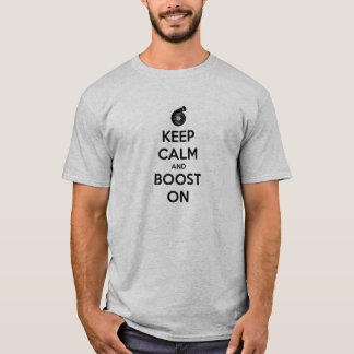T-shirt gardez le musc superbe de poussée de voiture de