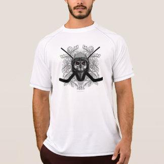 T-shirt Gardien de but atroce d'hockey