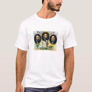 T-shirt Garfield, Lincoln, et McKinley -- Dans Memoriam