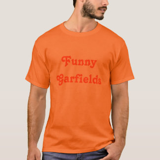 T-shirt Garfields drôle