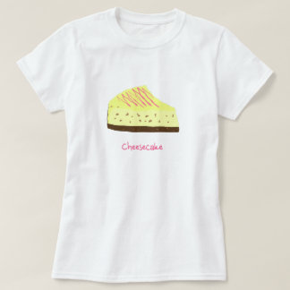 T-shirt Gâteau au fromage
