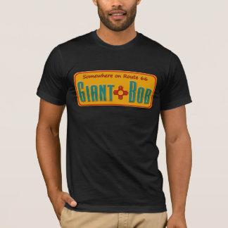 T-shirt géant de plaque minéralogique de
