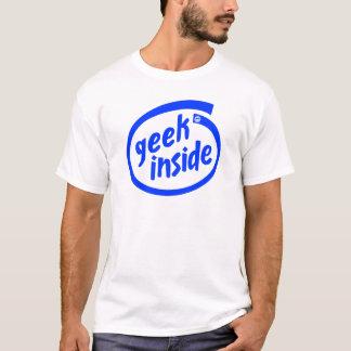 T-shirt Geek à l'intérieur