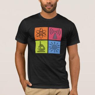 T-shirt Geeky de symboles