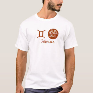 T-shirt GÉMEAUX - symbole de ZODIAQUE
