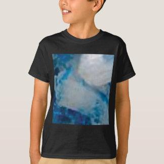 T-shirt gemme de couleur bleue