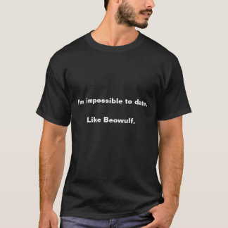 T-shirt Général de blog de Chaucer : Impossible jusqu'à