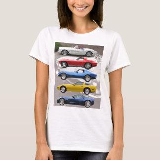 T-shirt Générations de Corvette