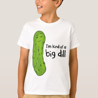 T-shirt Genre de pickle à l'aneth d'affaire