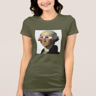 T-shirt George Washington dans 3D