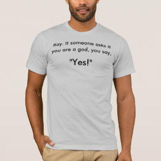 T-shirt Ghostbuster : Si quelqu'un demande si vous êtes un