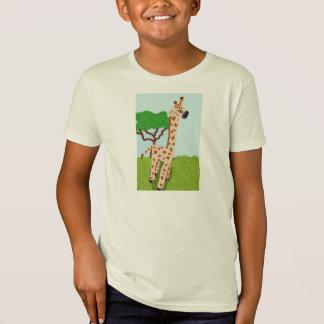 T-Shirt Girafe sur le Veldt africain