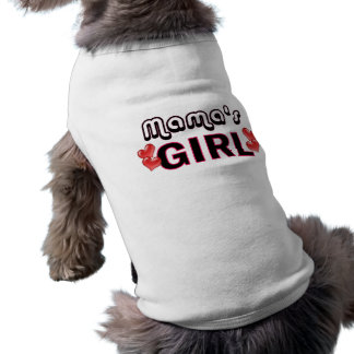 T-shirt Girl Dog Shirt de maman