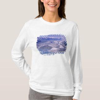 T-shirt Glacier de Lowell de vue aérienne, ressortissant