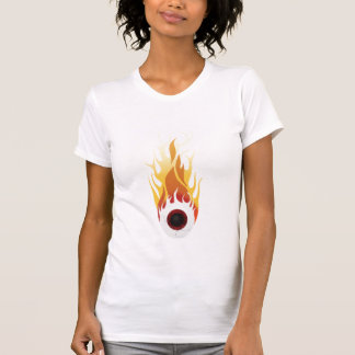 T-shirt globe oculaire