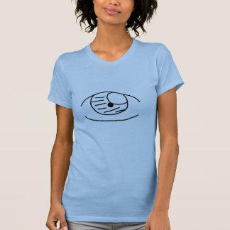 T-shirt Globe oculaire