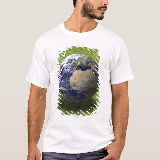 T-shirt Globe sur la pelouse 2