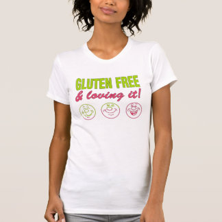 T-shirt Gluten libre et l'aimant ! Allergie de gluten