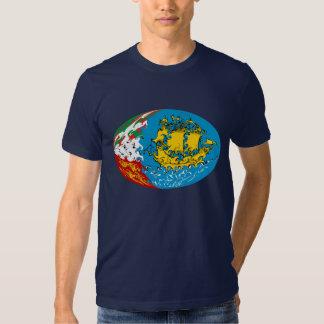 T-shirt Gnarly de drapeau de