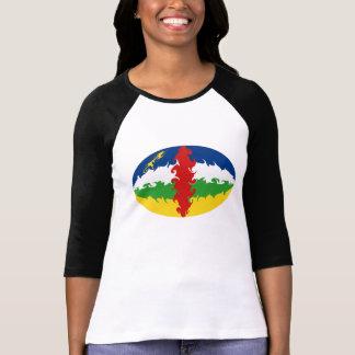 T-shirt Gnarly de drapeau de Centrafrique