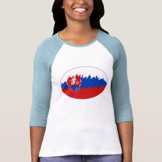 T-shirt Gnarly de drapeau de la Slovaquie