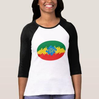 T-shirt Gnarly de drapeau de l'Ethiopie