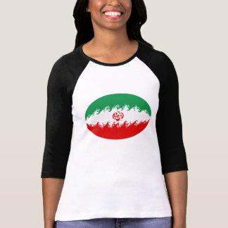 T-shirt Gnarly de drapeau de l'Iran