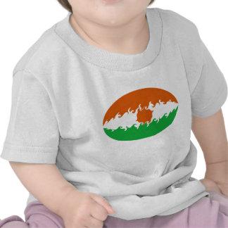 T-shirt Gnarly de drapeau du Niger