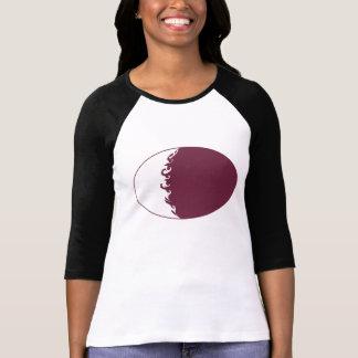 T-shirt Gnarly de drapeau du Qatar