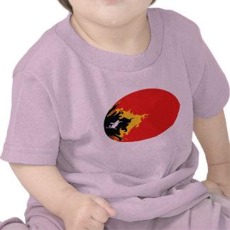 T-shirt Gnarly de drapeau du Timor oriental