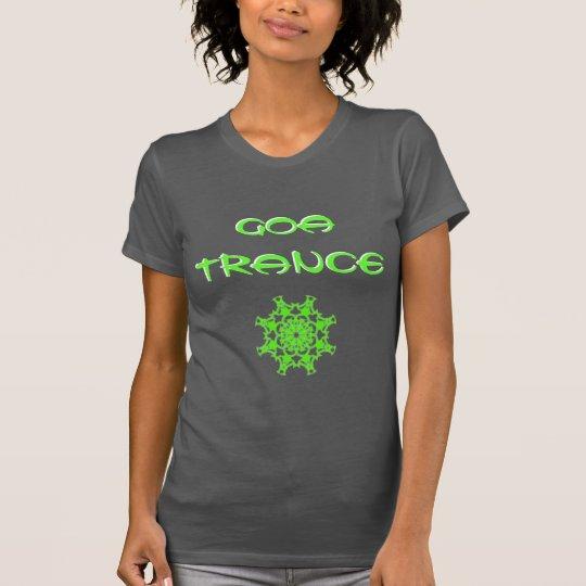 T-Shirt Goa Trance Green Chakra