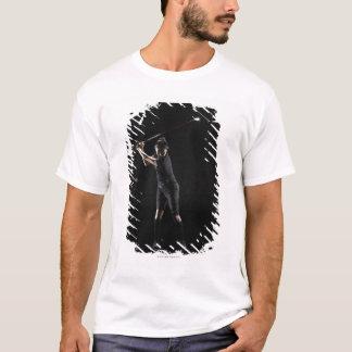 T-shirt Golfeur de Madame qui balance le conducteur