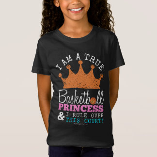 T-Shirt Golly filles : Princesse Rule This Court de