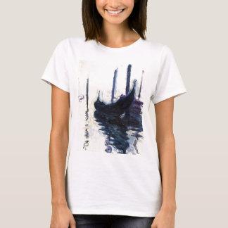 T-shirt Gondole de Monet à Venise