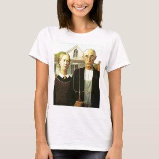 T-shirt Gothique américain