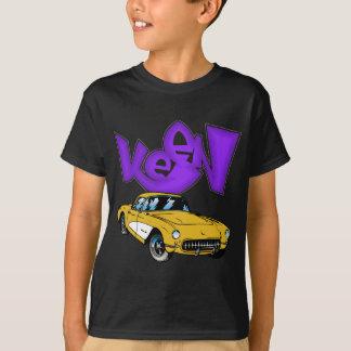 T-shirt Graffiti 1957 classique de Vette Corvette de cru