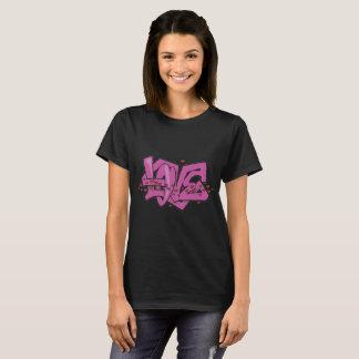 T-shirt Graffiti d'amour