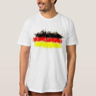T-shirt graffiti de drapeau de l'Allemagne