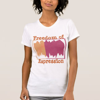 T-shirt GRAFFITI de KOOLshades :  Liberté d'expression