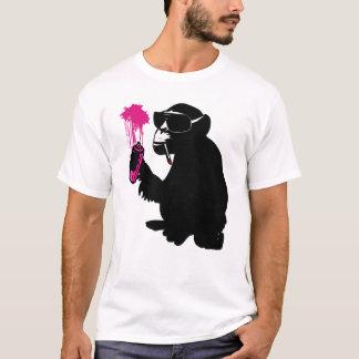 T-shirt graffiti monkey